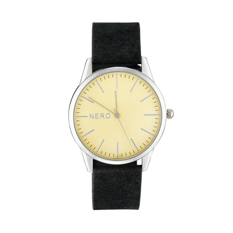 Nero Steel 118 Ladies Hewley DK Leather Watch