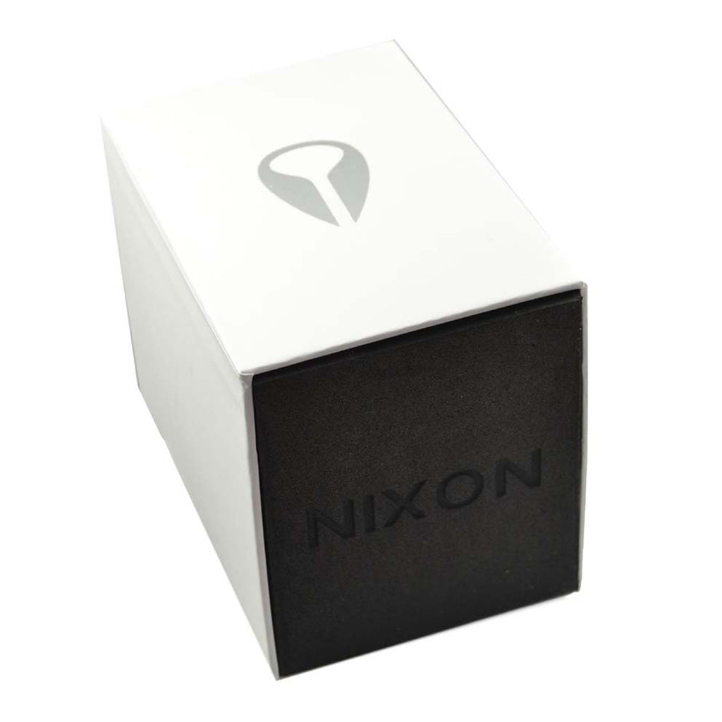 Nixon A323001-00 Mens Black Multi-Function Watch