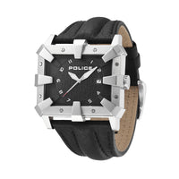 Police Men's PL.93404AEU/02 Leather Strap Watch