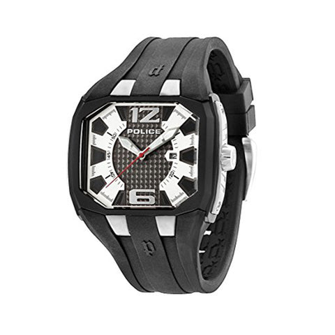 Police PL.93882AEU/04 Men's Silicone Strap Watch