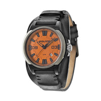 Police PL.94202AEU/17 Men's Orange Dial Multi-Function Watch