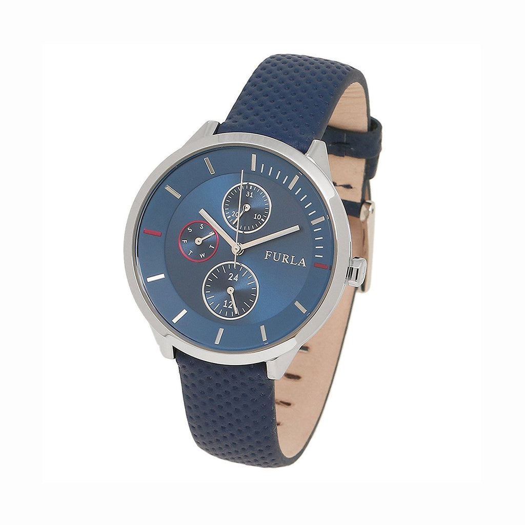 Furla R4251102528 Metropolis Ladies Blue Dial Multi-Function Watch