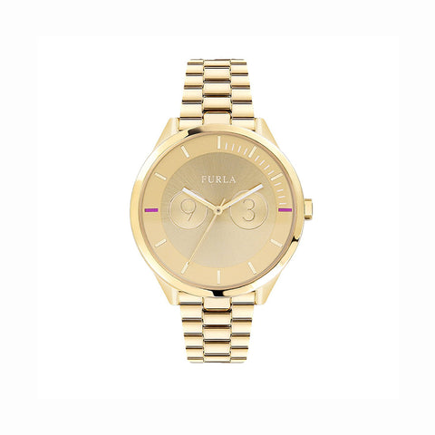 Furla R4253102508 Metropolis Ladies Gold Stainless Steel Watch