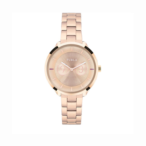 Furla R4253102518 Metropolis Ladies Rose Gold Watch