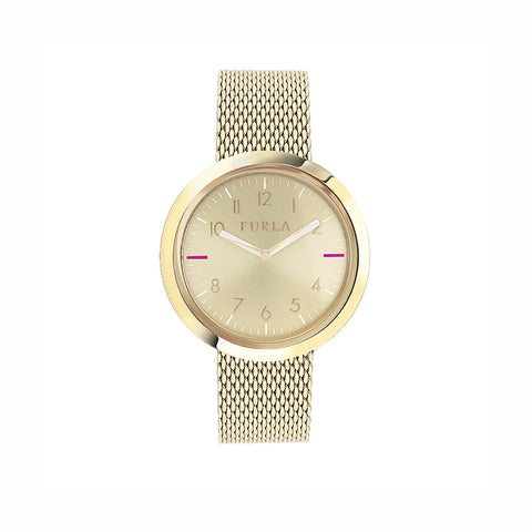 Furla R4253103502 Valentina Ladies Gold-Tone Watch