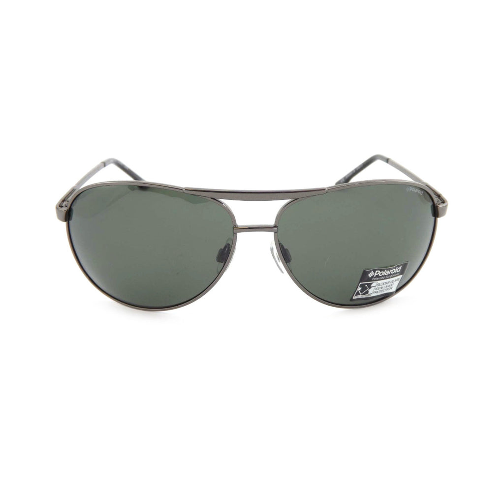 Polaroid S4300 Men's Gunmetal/Grey Polarized Sunglasses
