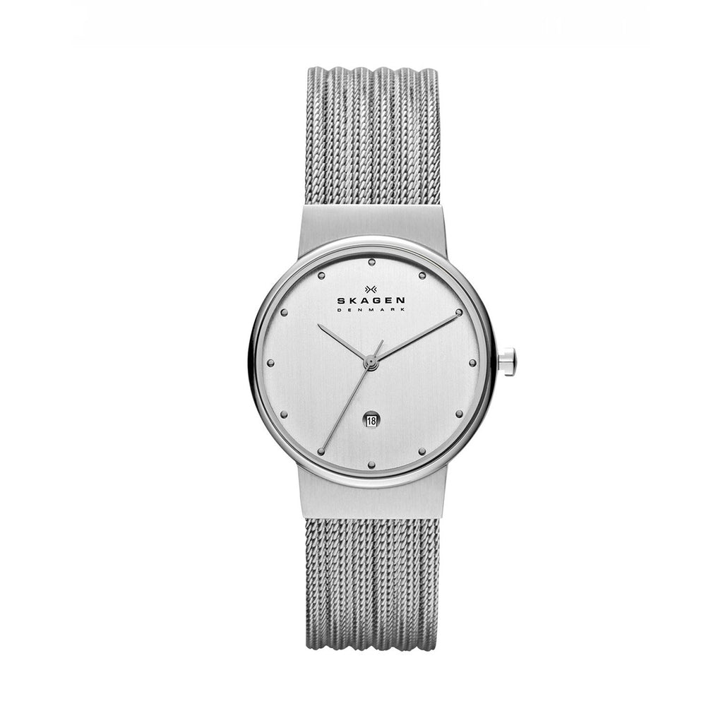 Skagen 355SSS1 Ladies Steel Collection Mesh Watch