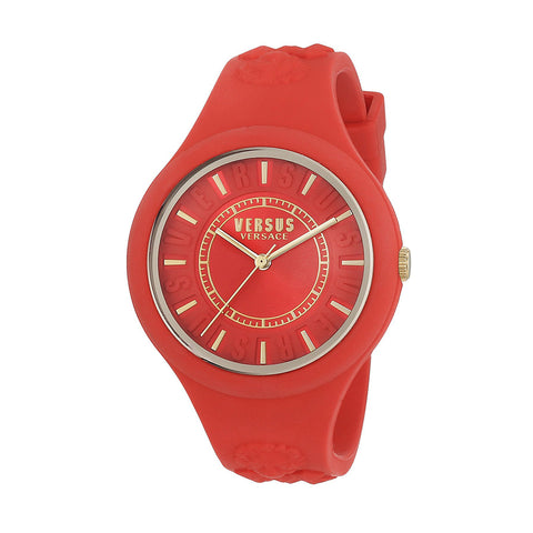 Versus By Versace SOQ100016 Ladies Fire Island Silicone Watch