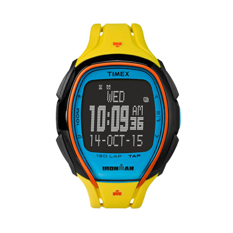 Timex TW5M00800 Ironman Mens Watch Yellow Strap Multi-Function