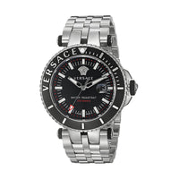 Versace VAK030016 V-Race Diver Men's SS Watch