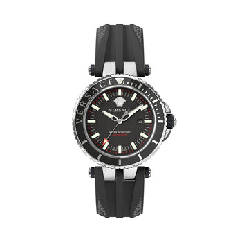 Versace Mens V-Race Diver Watch VEAK00118