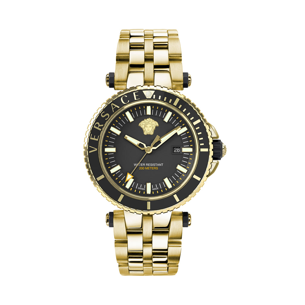 Versace Mens V-Race Diver Watch VEAK00618