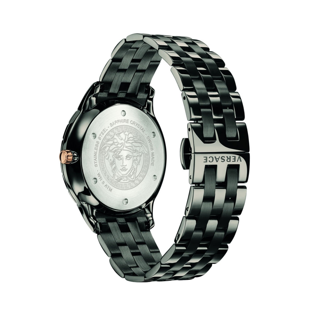 Versace VEBK00618 Men's Business Slim GMT Watch