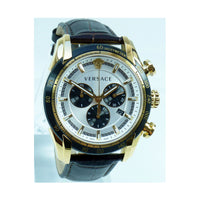 Versace V-Ray Mens Leather Watch VEDB00619