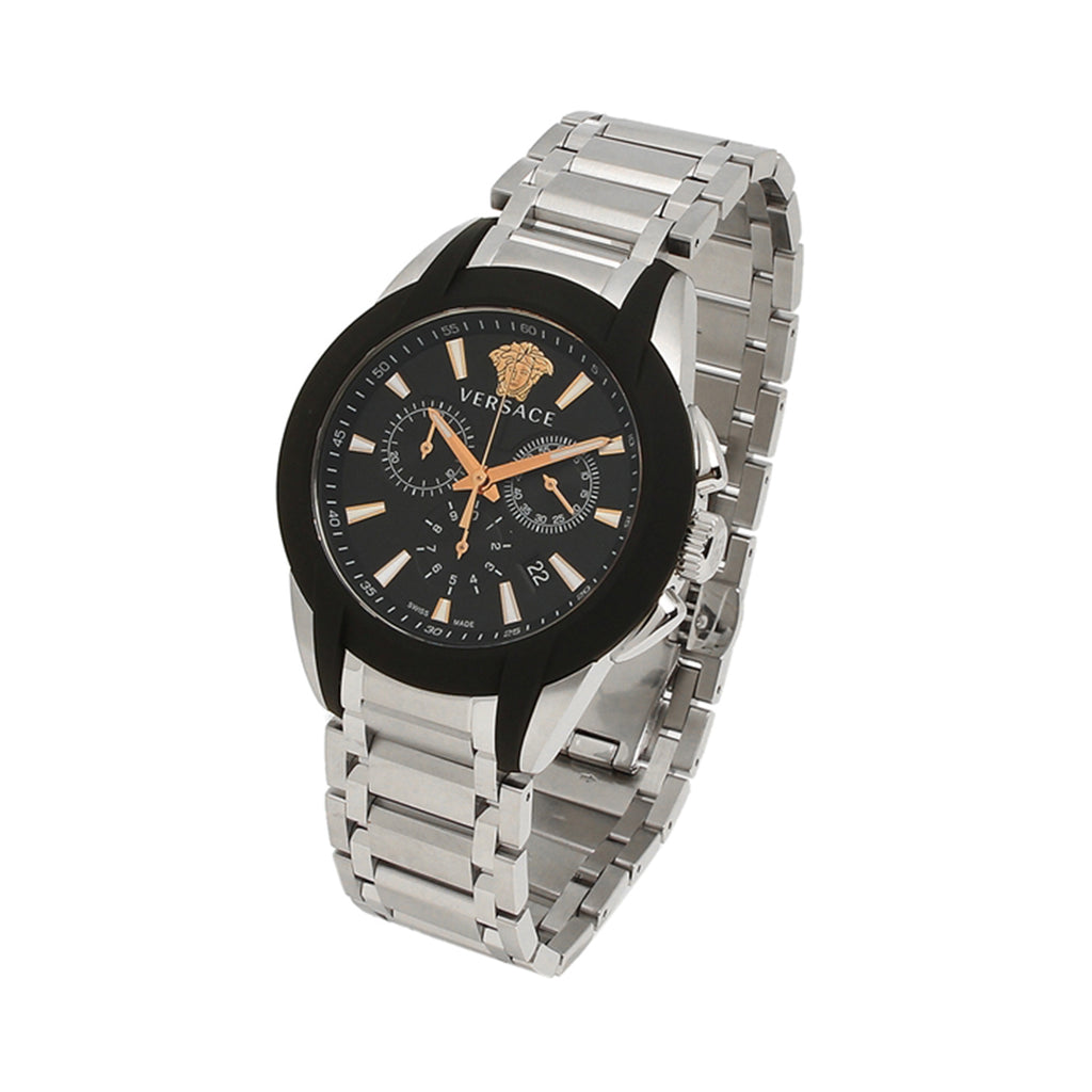 Versace Mens Character Chrono Watch VEM800218