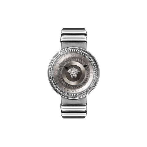 Versace VLC12 0016 V-Metal Icon Ladies Stainless Steel Swiss Quartz