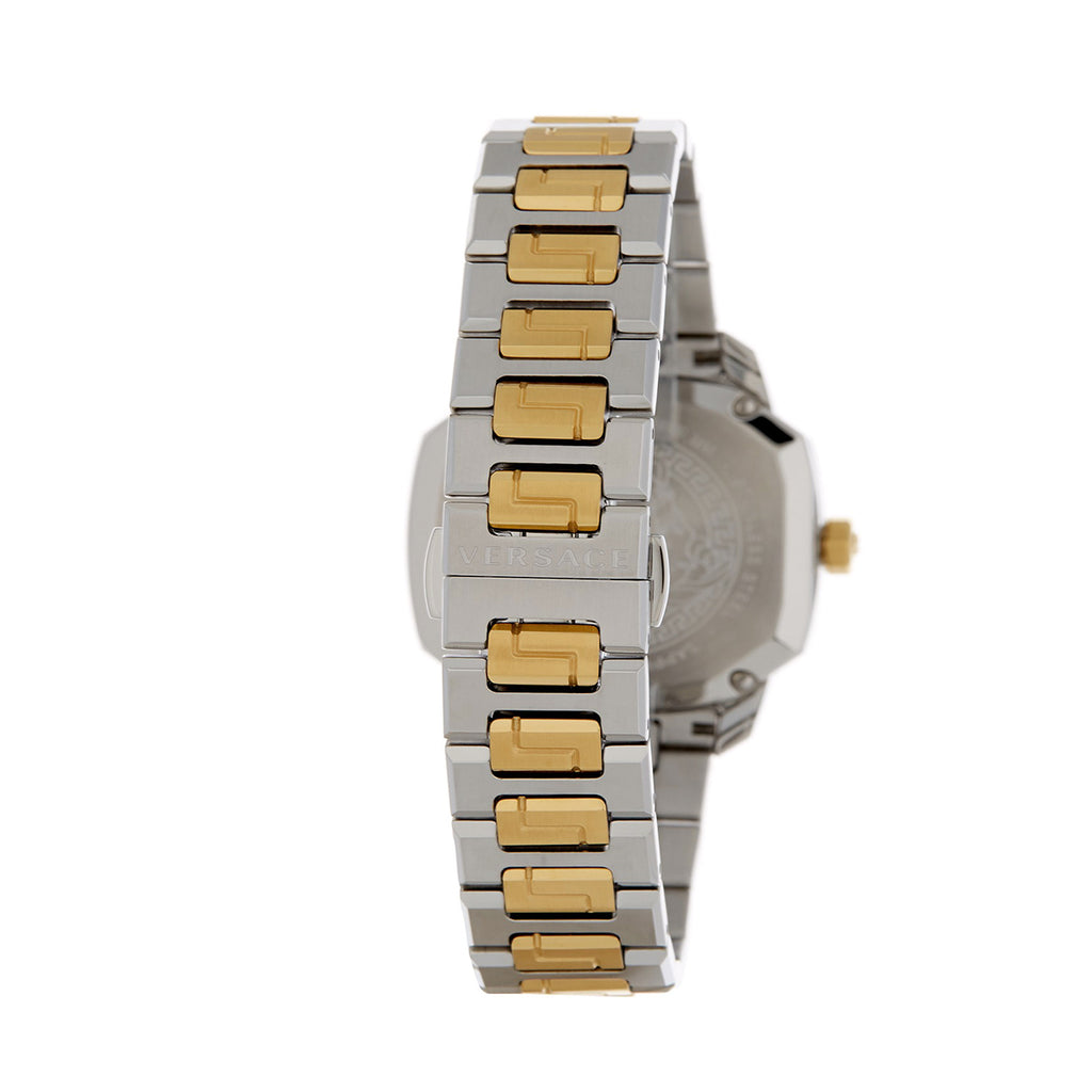 Versace VQD140016 Dylos Two-Tone Silver/Gold Ladies Watch
