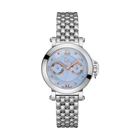 GC X40003L7S Ladies Silver Multi-function Swiss Watch