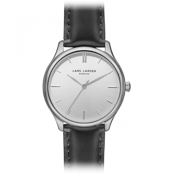 Lars Larsen 127SBBLL Ladies Stainless Steel Watch