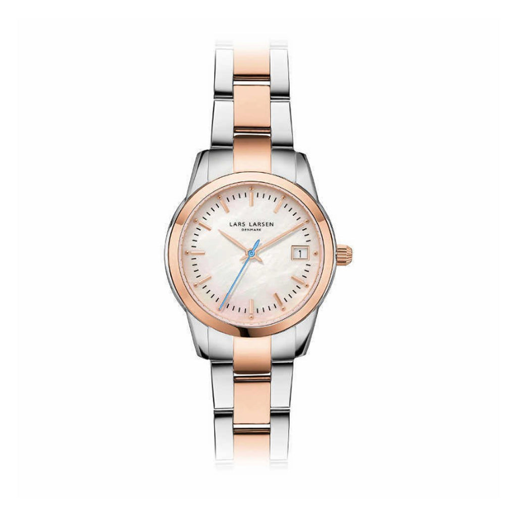 Lars Larsen 123RMRB Ladies Two-Tone Watch
