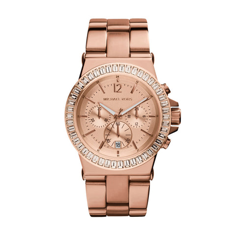 Michael Kors MK5412 Dylan Ladies Chronograph Rose Gold Watch