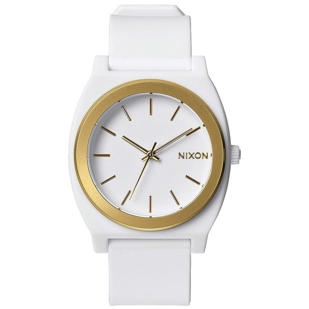 Nixon A119-1297 Unisex Time Teller Silicone Watch