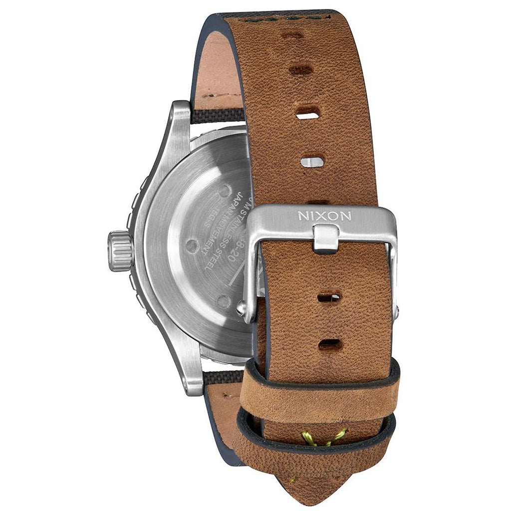 Nixon A467-2232 Men's The 38-20 Leather Watch