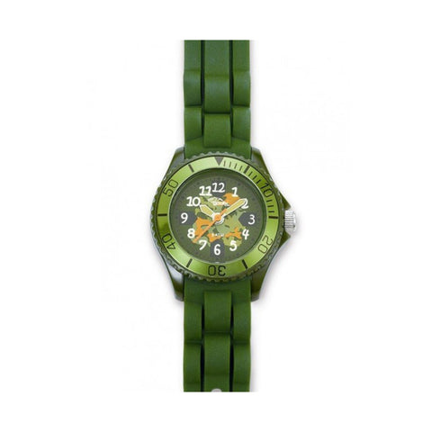 Gooix Kids GX06009030 Unisex Green Silicon Watch