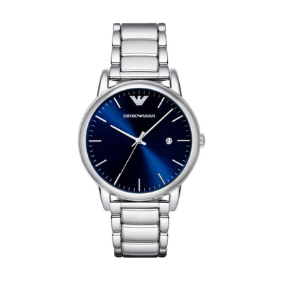 Emporio Armani AR8033 Men's Blue Dial Watch