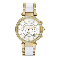 Michael Kors MK6119 Two-Tone Stainless Steel Ladies Parker Watch