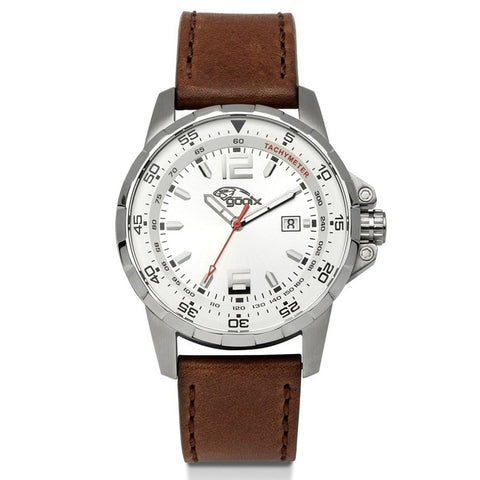 Gooix HUA-05913 Men's Brown Multi-Function Watch