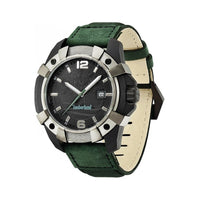 Timberland 13326JPBU/02 Chocorua Mens Green Leather strap Quartz Watch