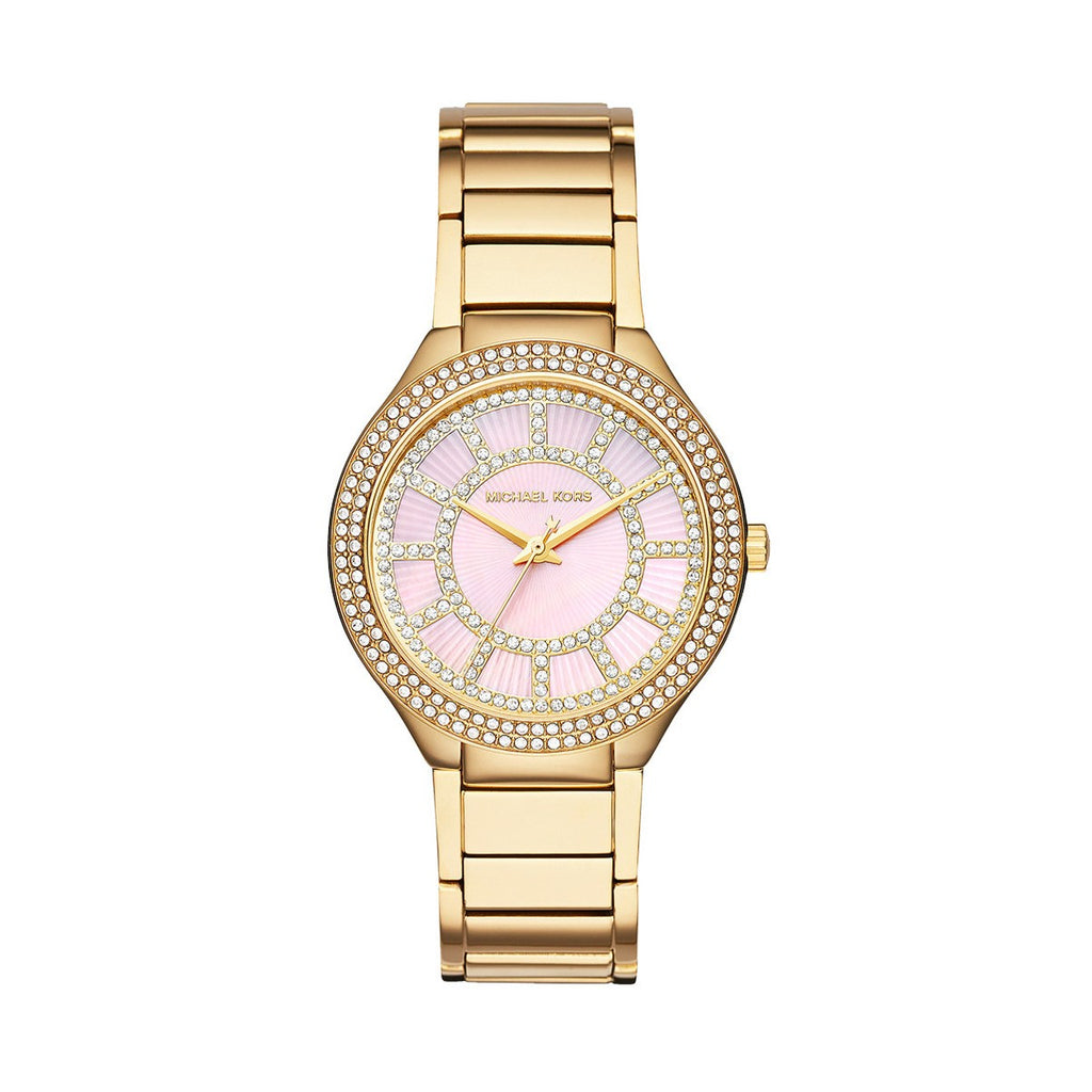 Michael Kors MK3396  Kerry Ladies Gold Tone Watch