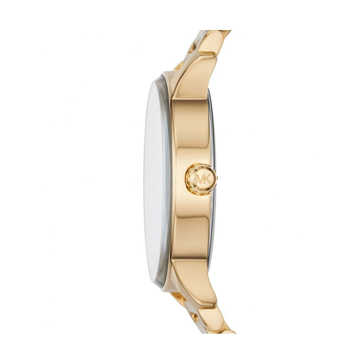9586c6e40041 Michael Kors Ladies Kinley Pav Gold Tone Watch MK6209