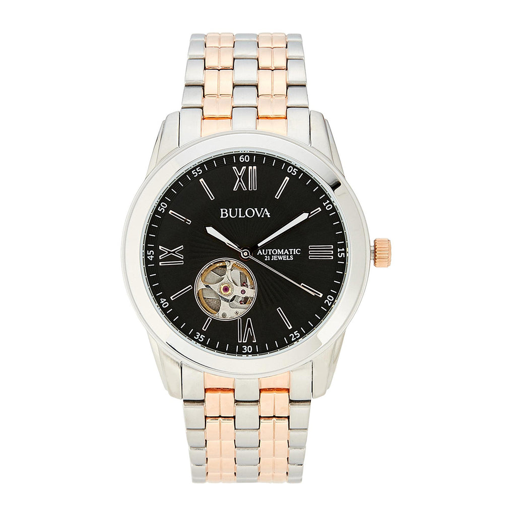 Bulova 98A144 Men's Automatic Two-Tone Quartz Watch