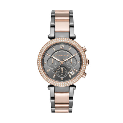 Michael Kors MK6440 Ladies Parker Two Tone Chronograph Watch