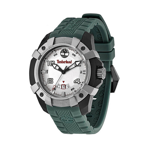 Timberland 13326JPBU/13 Chocorua Men's White Dial Green Strap Quartz Watch