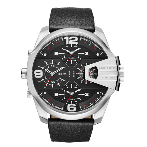 Diesel DZ7376 Uber Chief Black Men's Black Dial Quartz Watch