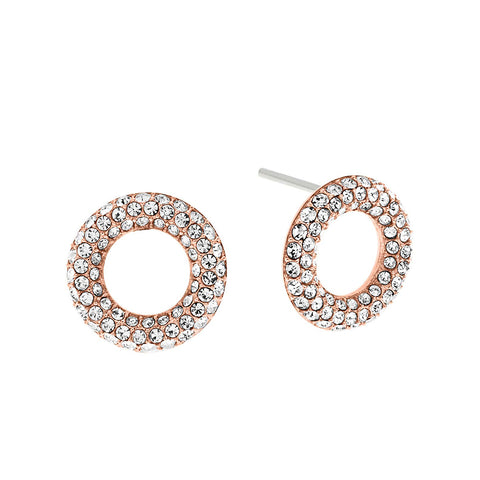 Michael Kors Brilliance MKJ5844791 Rose Gold-Tone Ladies Earrings
