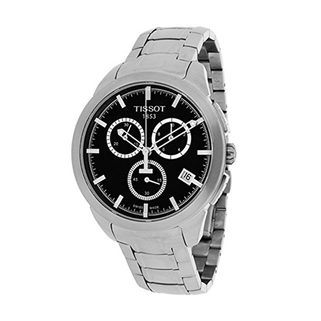 Tissot T0694174405100 T-Sport Men's Titanium Chronograph Swiss Watch