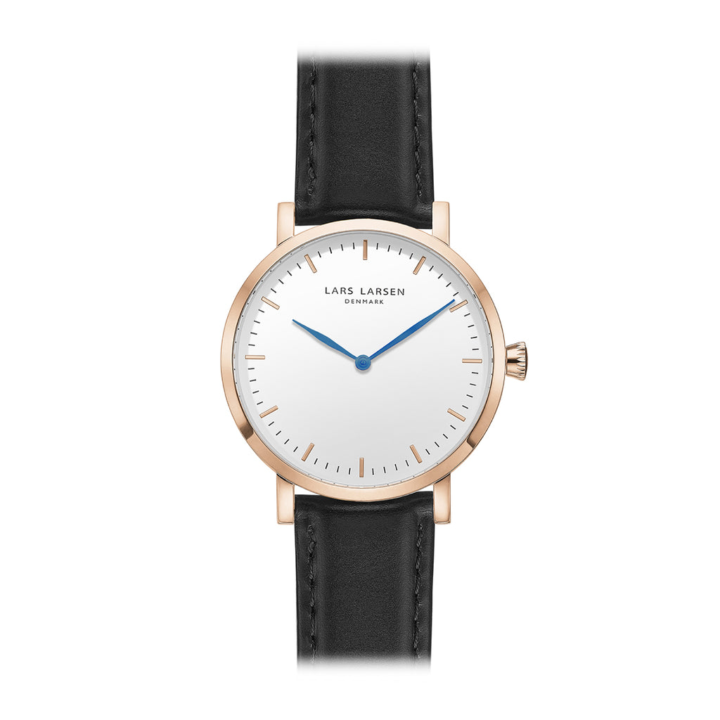 Lars Larsen 144RWBLL Ladies Rose Gold Watch