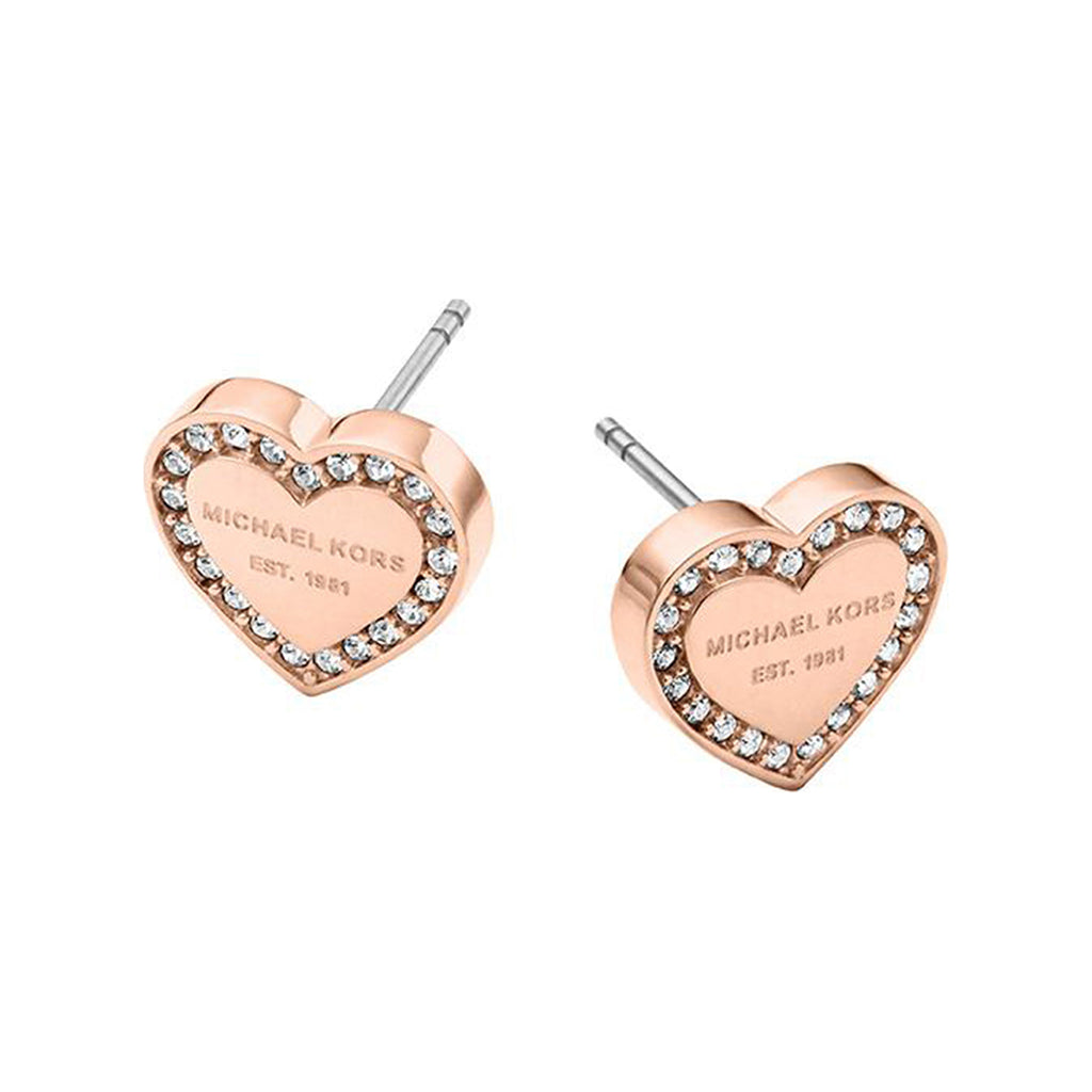 Michael Kors Brilliance MKJ3967791 Rose Gold Ladies Earrings