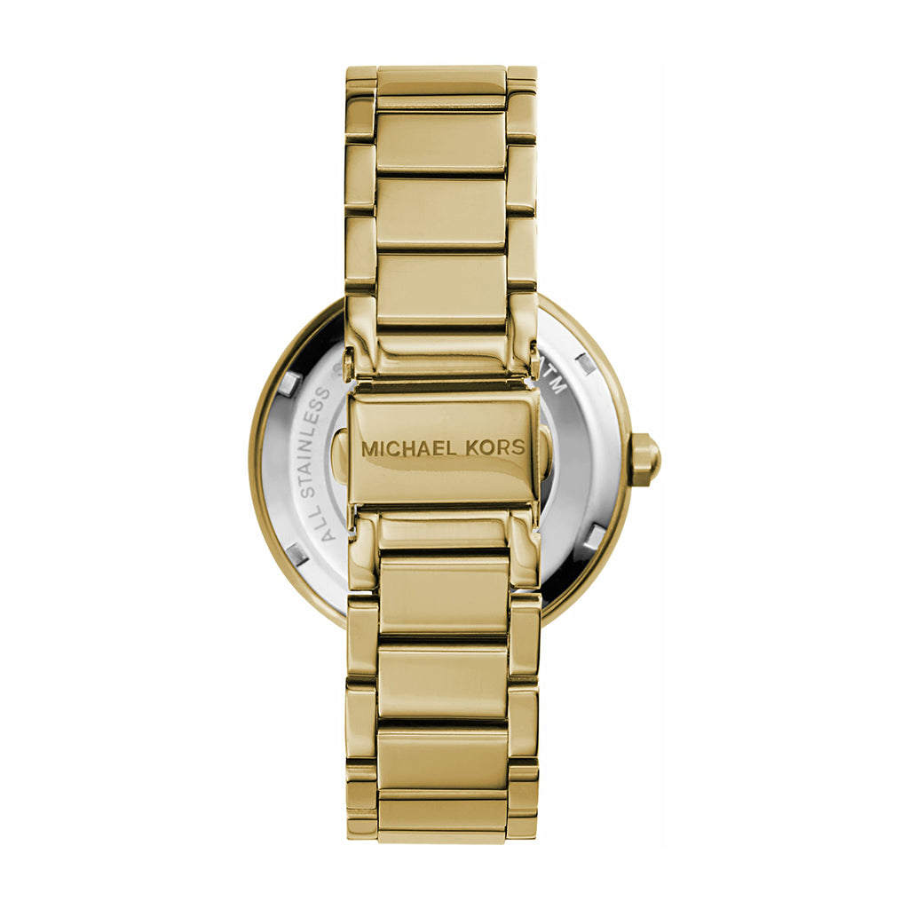 Michael Kors MK5784 PVD Gold Plated Ladies Watch