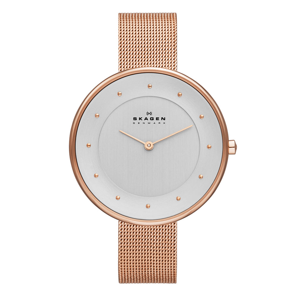 Skagen SKW2142 Ladies Gitte Rose Gold Tone Stainless Steel Watch