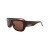 Filtrate Unisex Louisa Matte Choco Sunglasses