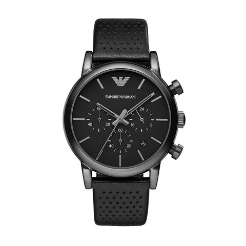 Emporio Armani AR1737 Men's Chronograph Leather Watch