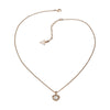 Guess UBN51421 Ladies PVD Rose Plating Necklace