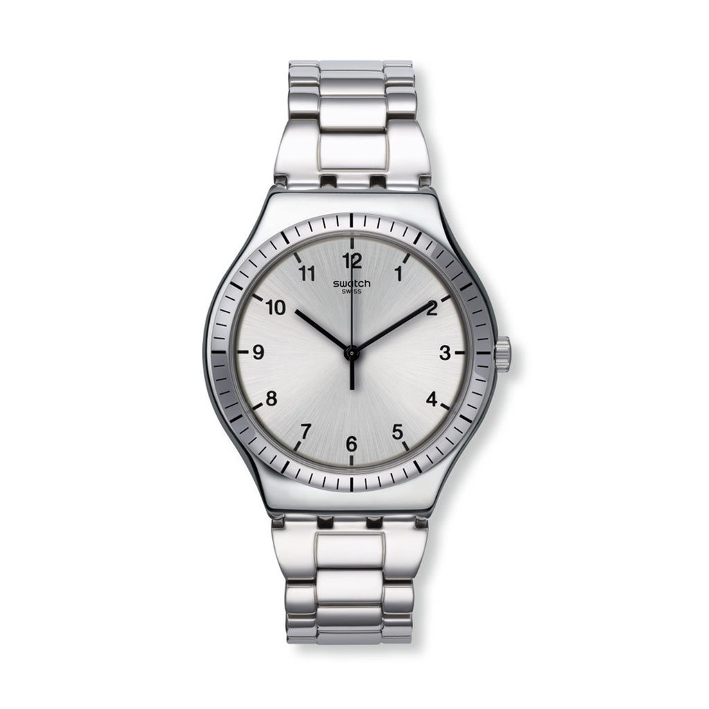 Swatch YWS100G Zio Argento Unisex Swiss Quartz Watch