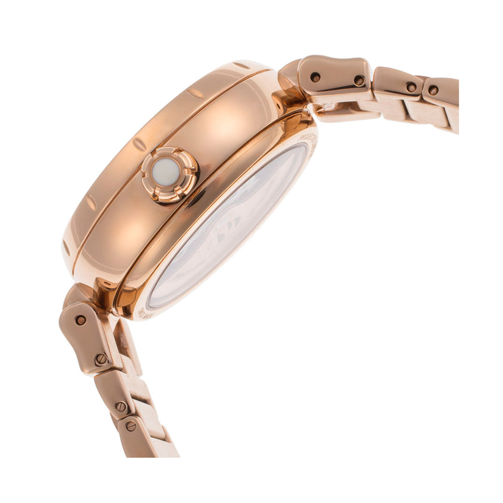 Rotary LB002/A/41 Automatic Ladies' Swiss Made Project D PVD Rose Gold Watch