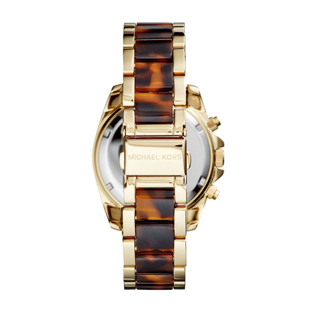 Michael Kors MK6094 Blair Ladies Two Tone Tortoise Watch